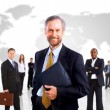 thumbnail of Group of business people. Isolated over white background