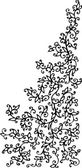 Refined Floral vignette 84 Eau-forte decorative vector illustration