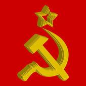 Russian simbol flag concept; abstract vector art illustration