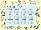 Kalendář pro rok 2011
