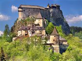Berühmte Arwaburg, Slowakei