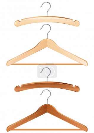 Постер, плакат: Clothing hanger, холст на подрамнике