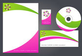 Corporate Identity Template #2 - vector illustration