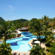 thumbnail of Swimming pool and garden in tropical resort