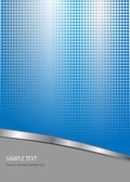 Business background blue and grey with dotted pattern vector