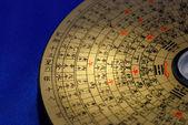 Čínského Feng Shui kompasu zaměřil na čínské slovo? odpoledne?
