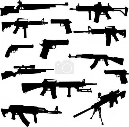 Постер, плакат: Weapons, холст на подрамнике