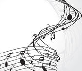 Music notes for design use vector illustration