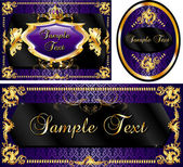 Vector Illustration of banner poster or card templates