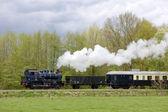Parní vlak, boekelo - haaksbergen, Nizozemsko
