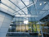 Transparent modern building