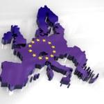 thumbnail of 3d flag map of European union