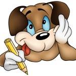 thumbnail of Brown Dog Writing