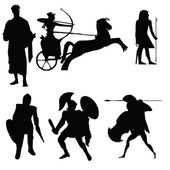 Silhouette Warriors