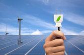 Eco power koncept
