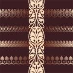 Постер, плакат: Set of different style ornaments