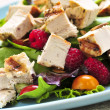 thumbnail of Green salad with grilled chicken