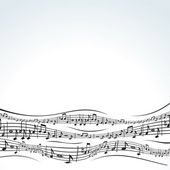 Abstract music vector background