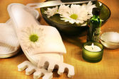 Spa essentials for foot care hygiene