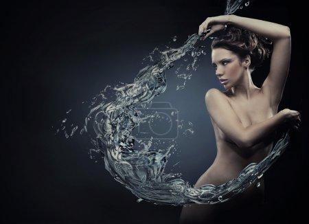 Fine art photo of a young woman