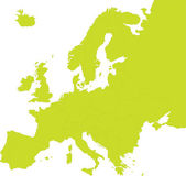 Vector map of european countries