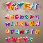 thumbnail of Funny 3d Font