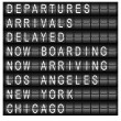 thumbnail of Travel Station Schedule Board