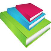 Satz von 3 Büchern