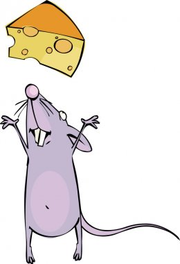 Mouse and cheese