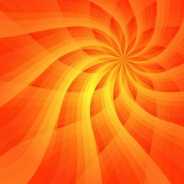 Abstract vivid orange background