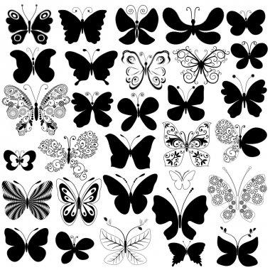 """Картина, постер, плакат, фотообои """"большая коллекция бабочек """", артикул 3871440"""