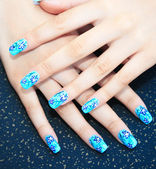 Photo Hands with nail art