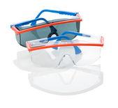 Schutzbrille isoliert
