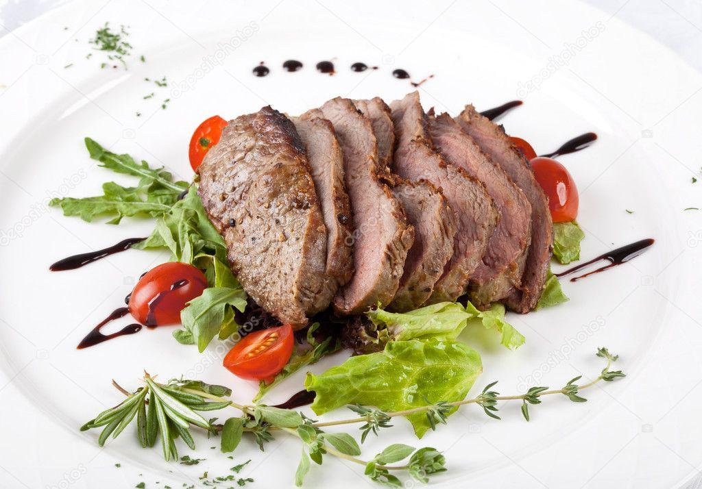 A gourmet fillet steak