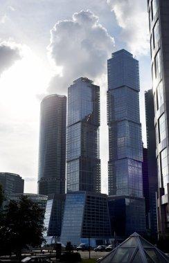 """Картина, постер, плакат, фотообои """"moscow city"""", артикул 3719898"""