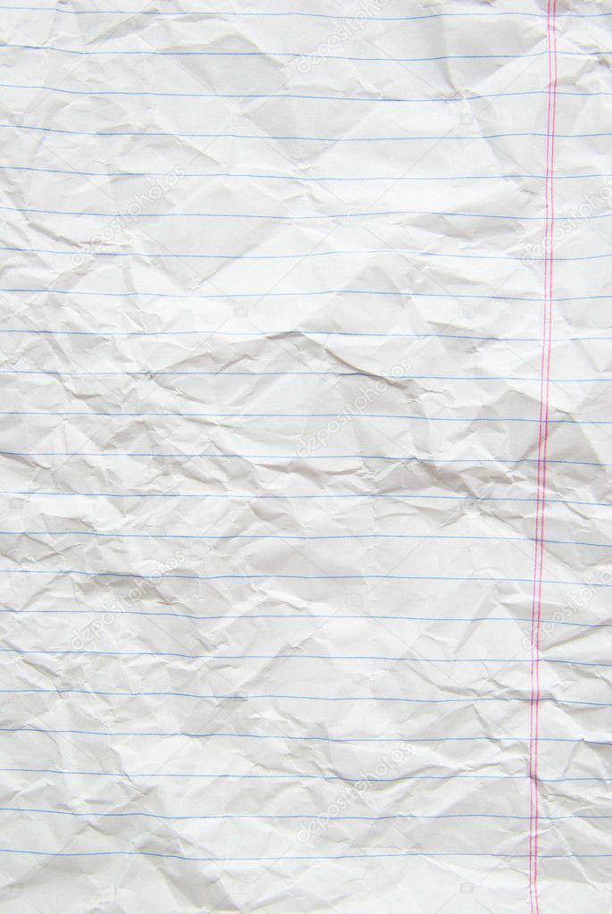 Lined Paper — Stock Photo © Pakhnyushchyy #3749925