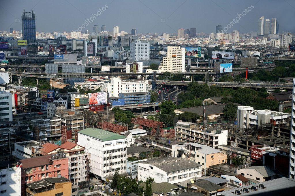 Bangkok street, Thailand