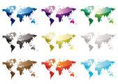 Fotografia mappa del mondo nove