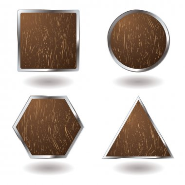 Wood button variation