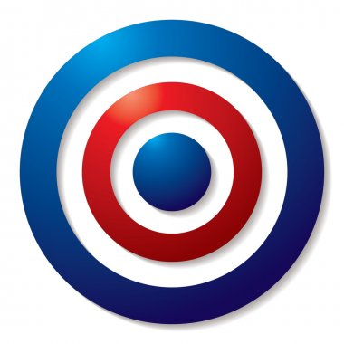 Tricolor target