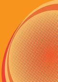 oranžový polotónování pozadí
