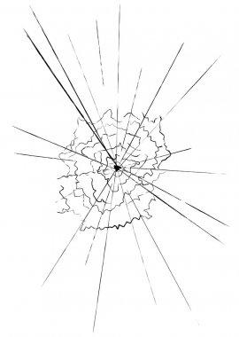 Shatter glass