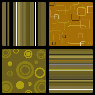 Seventies wallpaper brown