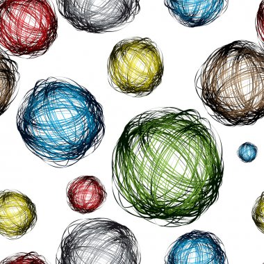 Scribble ball color