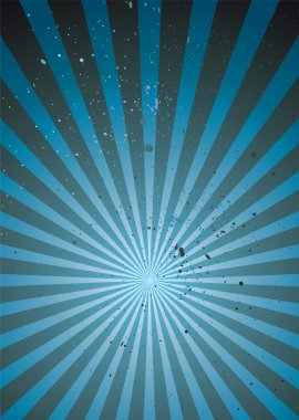 Radiate blue grunge light