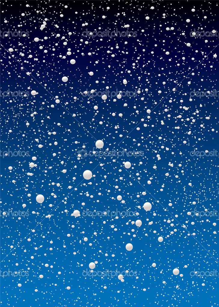 Ciel de flocon de neige image vectorielle nicemonkey - Vrai flocon de neige ...