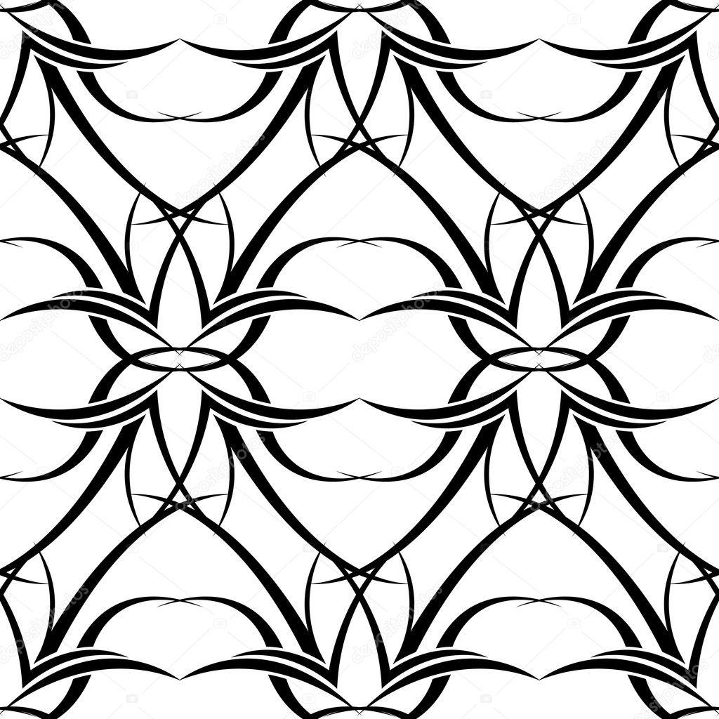 Black N White Tattoo Wallpaper Archivo Imagenes Vectoriales