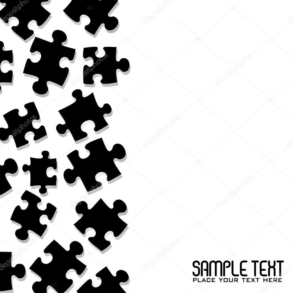 Puzzle-Rahmen — Stockvektor © Nicemonkey #3416665