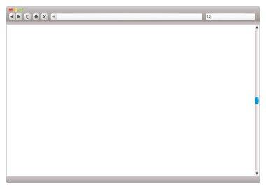 Internet web browser slider