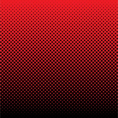 Halftone background gradient